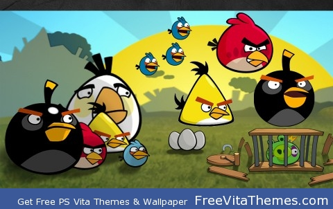 Angry Birds PS Vita Wallpaper