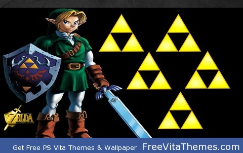 Ocarina of Time: Link PS Vita Wallpaper