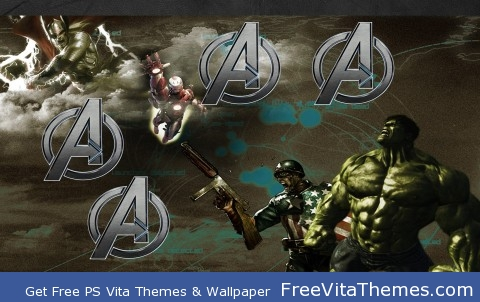 Avengers PS Vita Wallpaper