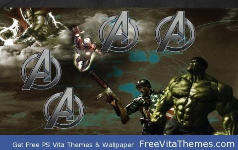 Avengers PS Vita Wallpaper