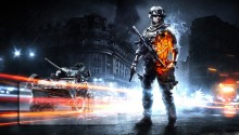 Download Battlefield 3 Lock Screen 1 PS Vita Wallpaper