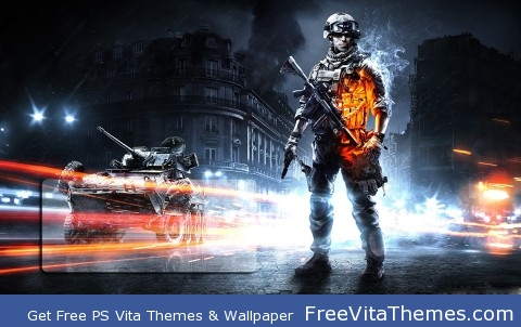 Battlefield 3 Lock Screen 1 PS Vita Wallpaper