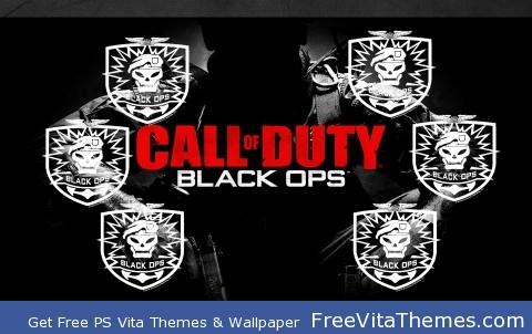 COD: Black Ops PS Vita Wallpaper