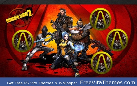 Borderlands 2 PS Vita Wallpaper