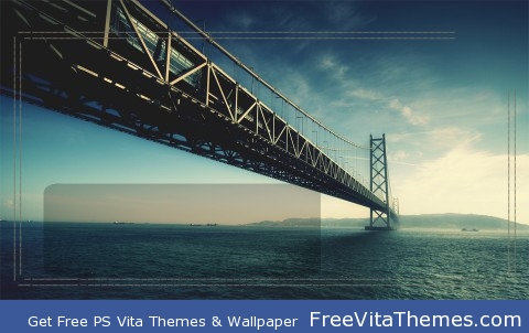 Bridge Lockscreen PS Vita Wallpaper