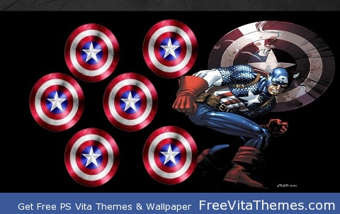 Captain America PS Vita Wallpaper