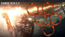 Download Dark Souls Lord Gwyn PS Vita Wallpaper