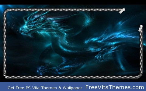 Dragon Lockscreen PS Vita Wallpaper