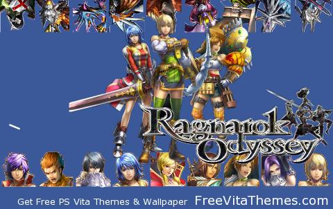 Zipper Lockscreen| Ragnarok Odyssey Fem Fatale PS Vita Wallpaper