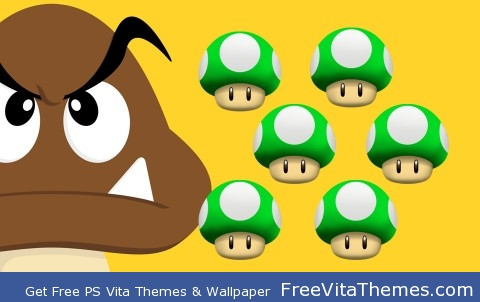 Goomba PS Vita Wallpaper