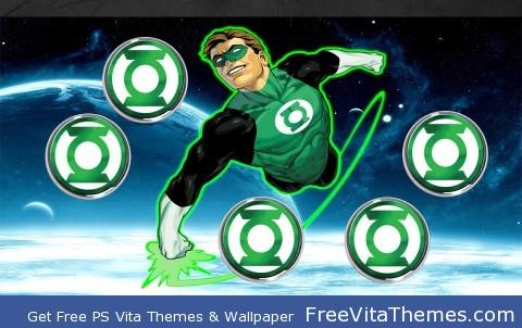 Green Lantern PS Vita Wallpaper