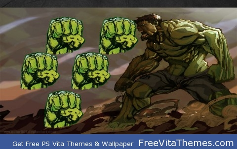 Hulk PS Vita Wallpaper