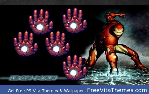 Iron Man PS Vita Wallpaper