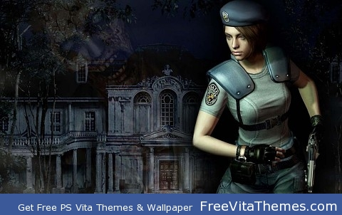 Jill Valentine PS Vita Wallpaper