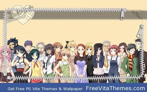 Katawa Shoujo Lockscreen PS Vita Wallpaper