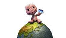 Download Transparent/Dynamic| LittleBIGPlanet Sackboy's got a Vita PS Vita Wallpaper