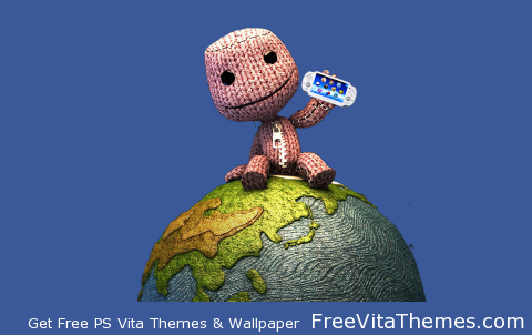 Transparent/Dynamic| LittleBIGPlanet Sackboy's got a Vita PS Vita Wallpaper