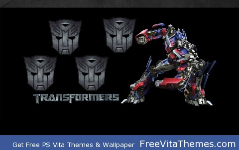 Transformers: Optimus Prime PS Vita Wallpaper
