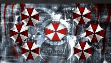 Download Resident Evil Umbrella Corp PS Vita Wallpaper