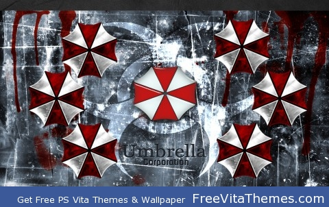 Resident Evil Umbrella Corp PS Vita Wallpaper