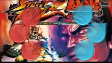 Download Wallpaper| Street Fighter X Tekken Devil vs Dragon PS Vita Wallpaper