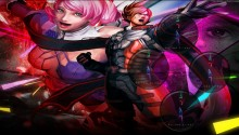 Download Wallpaper| Street Fighter X Tekken Team Lars & Alisa PS Vita Wallpaper