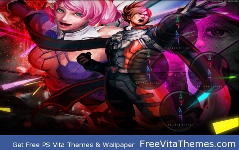 Wallpaper| Street Fighter X Tekken Team Lars & Alisa PS Vita Wallpaper