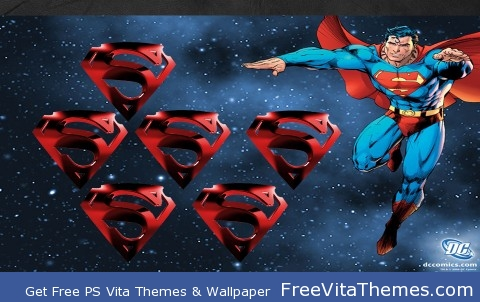 Superman PS Vita Wallpaper