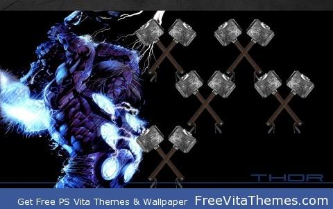 Thor PS Vita Wallpaper
