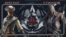 Download Zipper Lockscreen| Assassin's Creed III Aveline & Connor PS Vita Wallpaper