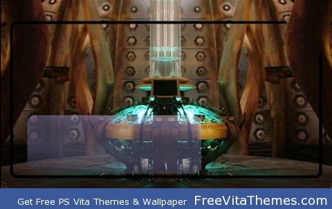 9/10th Doctor Console Room PS Vita Wallpaper