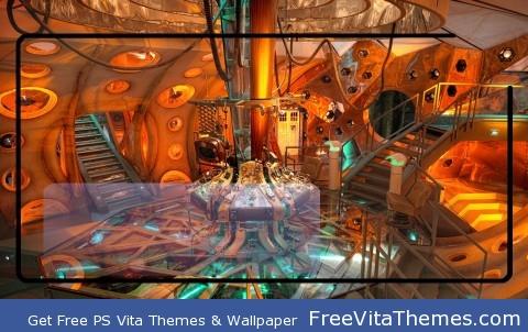 11th Doctor Colsole Room PS Vita Wallpaper