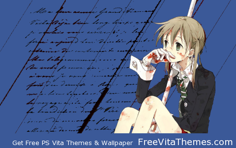 maka 'dynamic'from soul eater PS Vita Wallpaper