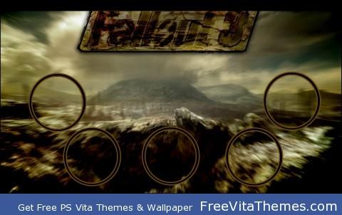 fallout 3 PS Vita Wallpaper