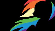 Download Rainbow Dash PS Vita Wallpaper