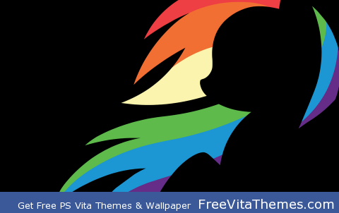 Rainbow Dash PS Vita Wallpaper