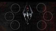 Download skyrim w/buttons 2 PS Vita Wallpaper
