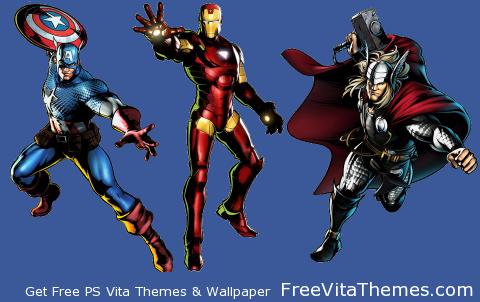 UMVC3_1 PS Vita Wallpaper