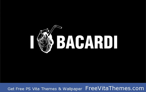 I Love Bacardi PS Vita Wallpaper