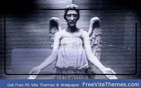Weeping Angel PS Vita Wallpaper