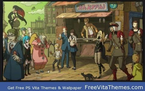 Gravity Rush – Ending PS Vita Wallpaper