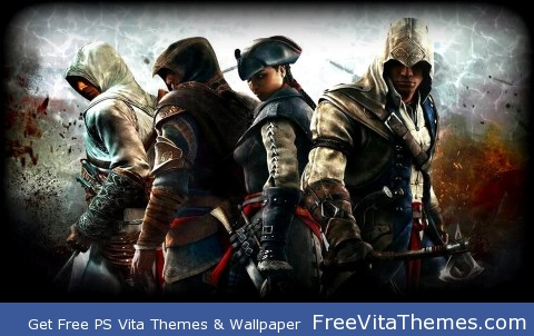 Assassin's Creed Legends! PS Vita Wallpaper