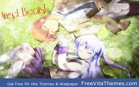 Angel Beats! PS Vita Wallpaper