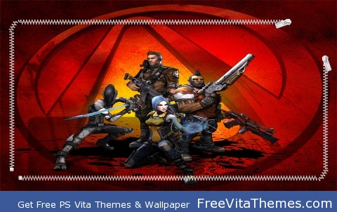 Borderlands 2 Lockscreen PS Vita Wallpaper