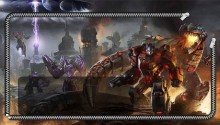 Download Fall of Cybertron Lockscreen PS Vita Wallpaper