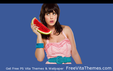 Transparent/Dynamic Katy Perry PS Vita Wallpaper