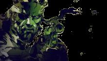 Download Metal Gear Solid 3 Snake Eater Transparent Dynamic PS Vita Wallpaper