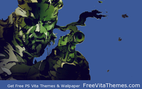 Metal Gear Solid 3 Snake Eater Transparent Dynamic PS Vita Wallpaper