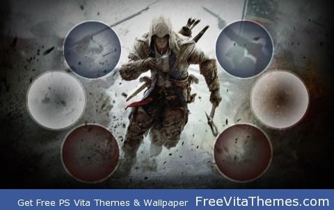 Assassin's Creed 3 Theme PS Vita Wallpaper