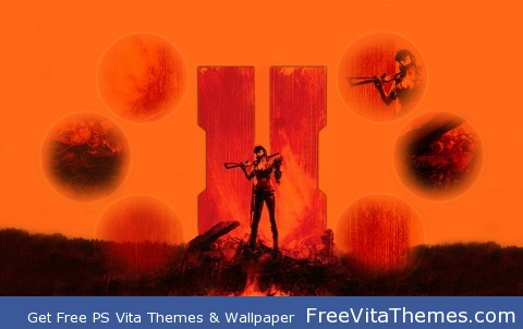 Black Ops ll Zombies Theme PS Vita Wallpaper